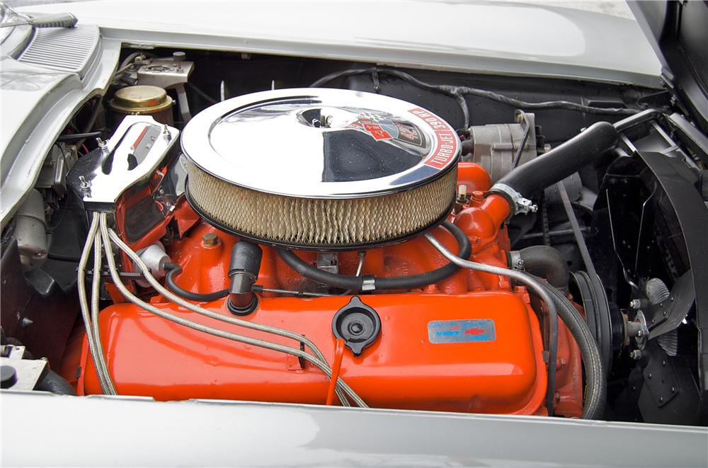 1966 CHEVROLET CORVETTE CONVERTIBLE - Engine - 88830