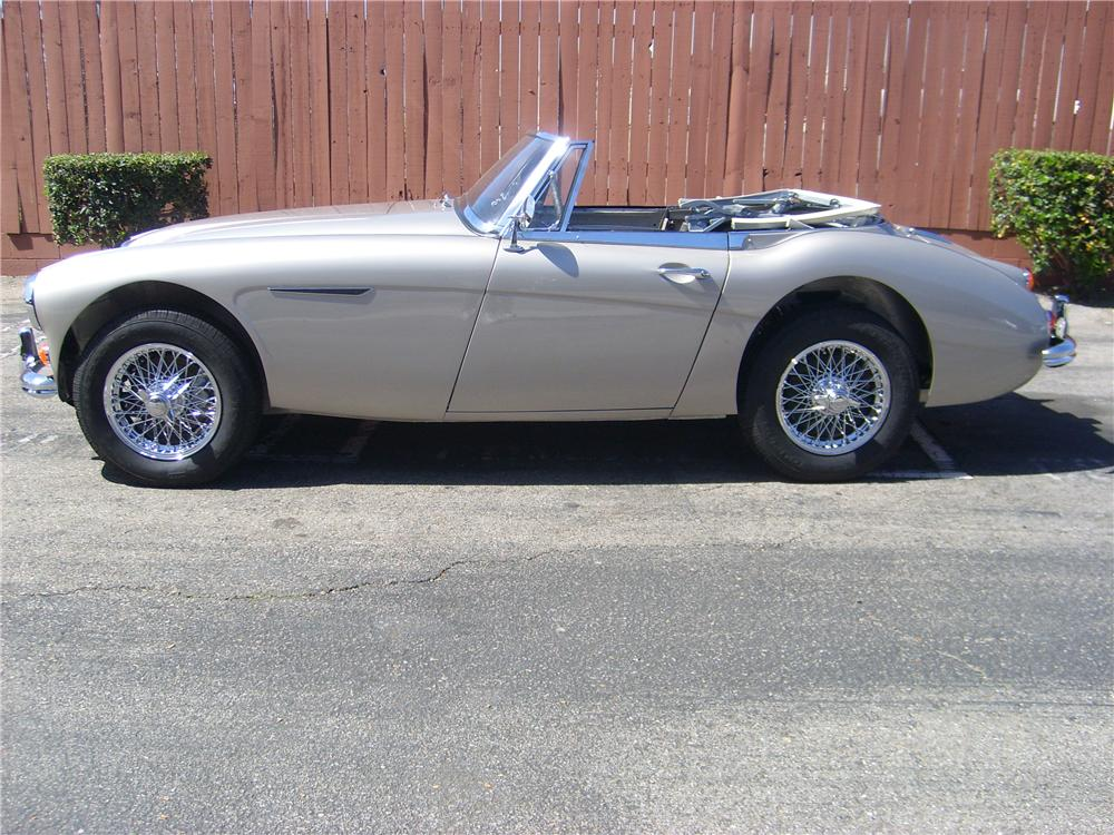 1967 AUSTIN-HEALEY 3000 MARK III BJ8 CONVERTIBLE - Engine - 88831