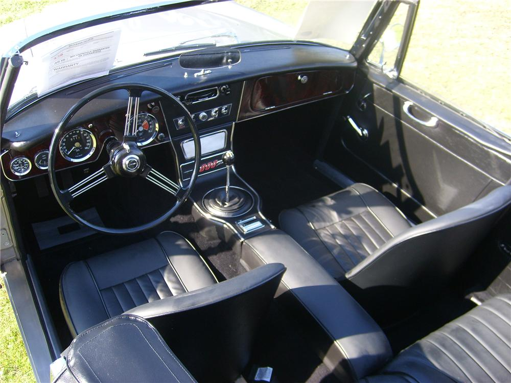 1967 AUSTIN-HEALEY 3000 MARK III BJ8 CONVERTIBLE - Interior - 88831