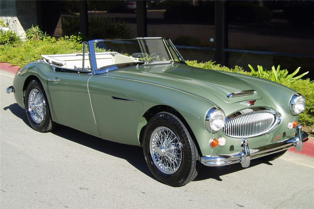 1967 AUSTIN-HEALEY 3000 MARK III BJ8 CONVERTIBLE - Front 3/4 - 88832