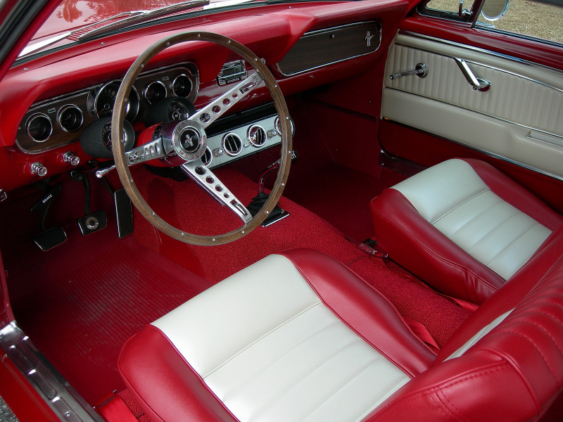 1966 Ford Mustang 2 Door Coupe 88836