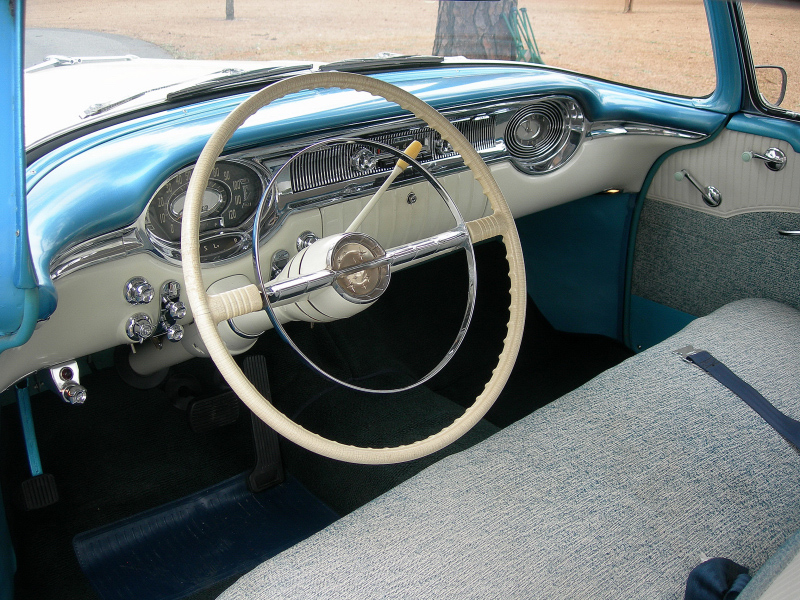 1956 OLDSMOBILE 88 2 DOOR HARDTOP - Interior - 88839