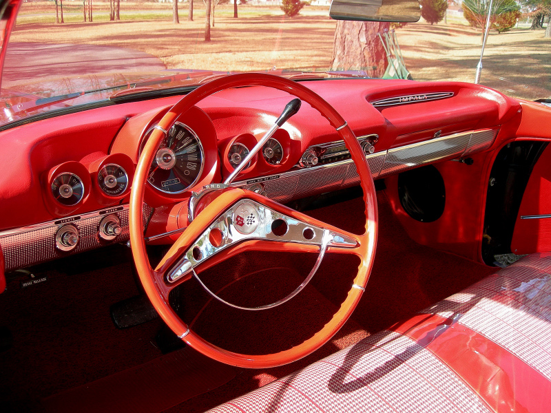 1960 CHEVROLET IMPALA 2 DOOR SPORTS COUPE - Interior - 88840