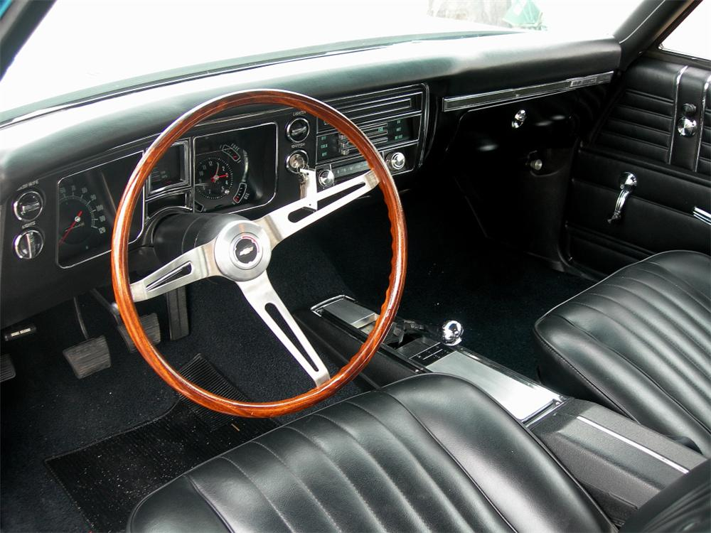 1968 CHEVROLET CHEVELLE 2 DOOR COUPE - Interior - 88845