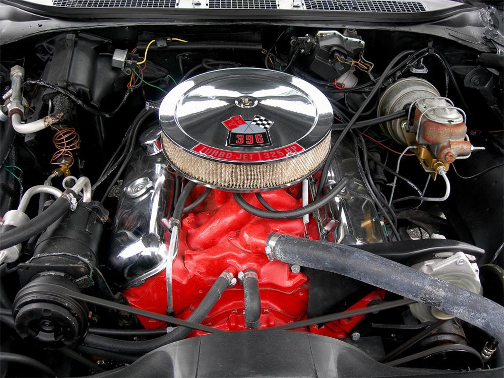 1968 CHEVROLET CHEVELLE SS 396 2 DOOR COUPE RE-CREATION - Engine - 88847