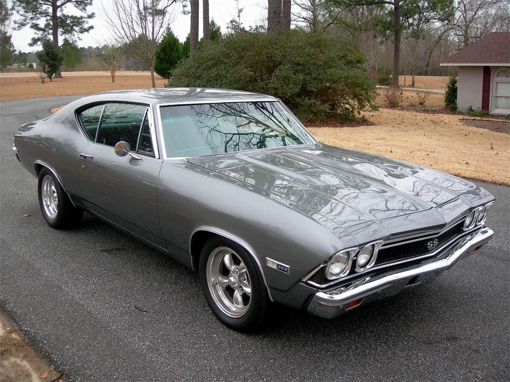 1968 CHEVROLET CHEVELLE SS 396 2 DOOR COUPE RE-CREATION - Front 3/4 - 88847