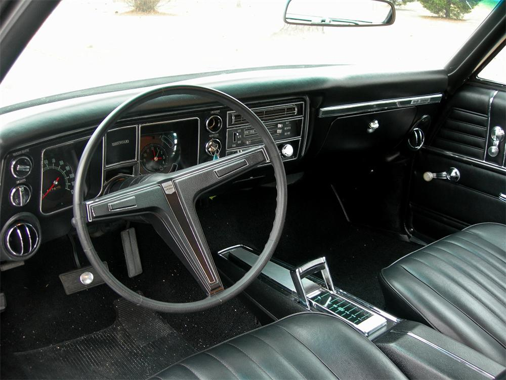 ... 1968 CHEVROLET CHEVELLE SS 396 2 DOOR COUPE RE CREATION   Interior    88847 ...