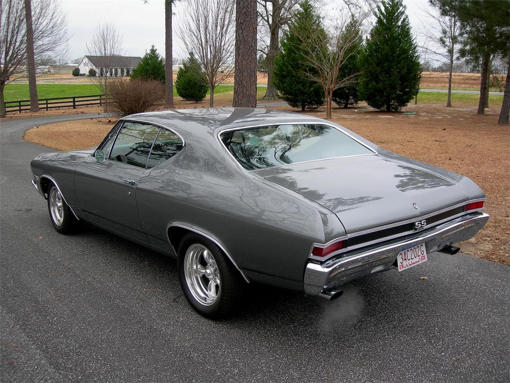 1968 CHEVROLET CHEVELLE SS 396 2 DOOR COUPE RE-CREATION - Rear 3/4 - 88847