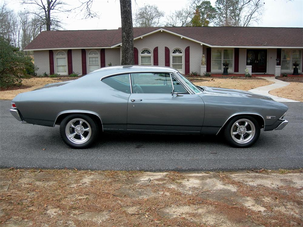 1968 CHEVROLET CHEVELLE SS 396 2 DOOR COUPE RE-CREATION - Side Profile - 88847