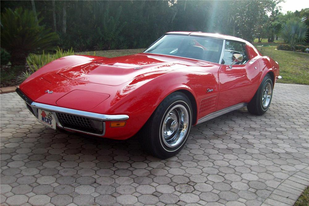 1970 CHEVROLET CORVETTE COUPE - Front 3/4 - 88856