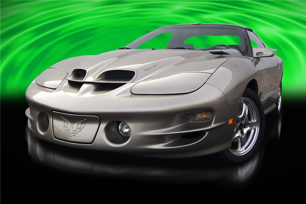 2001 PONTIAC FIREBIRD TRANS AM COUPE - Front 3/4 - 88859