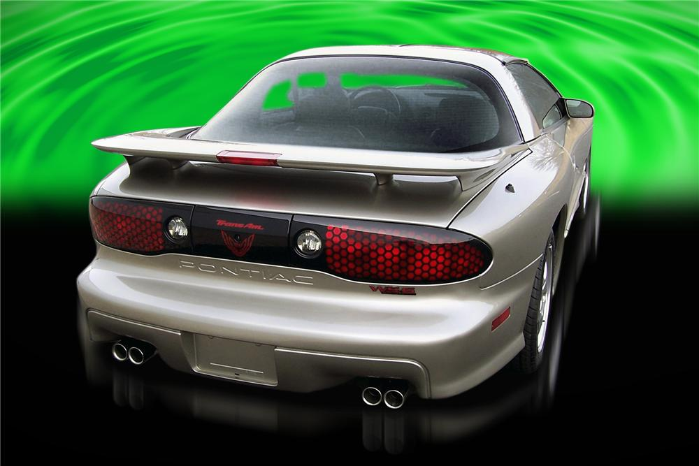 2001 PONTIAC FIREBIRD TRANS AM COUPE - Rear 3/4 - 88859