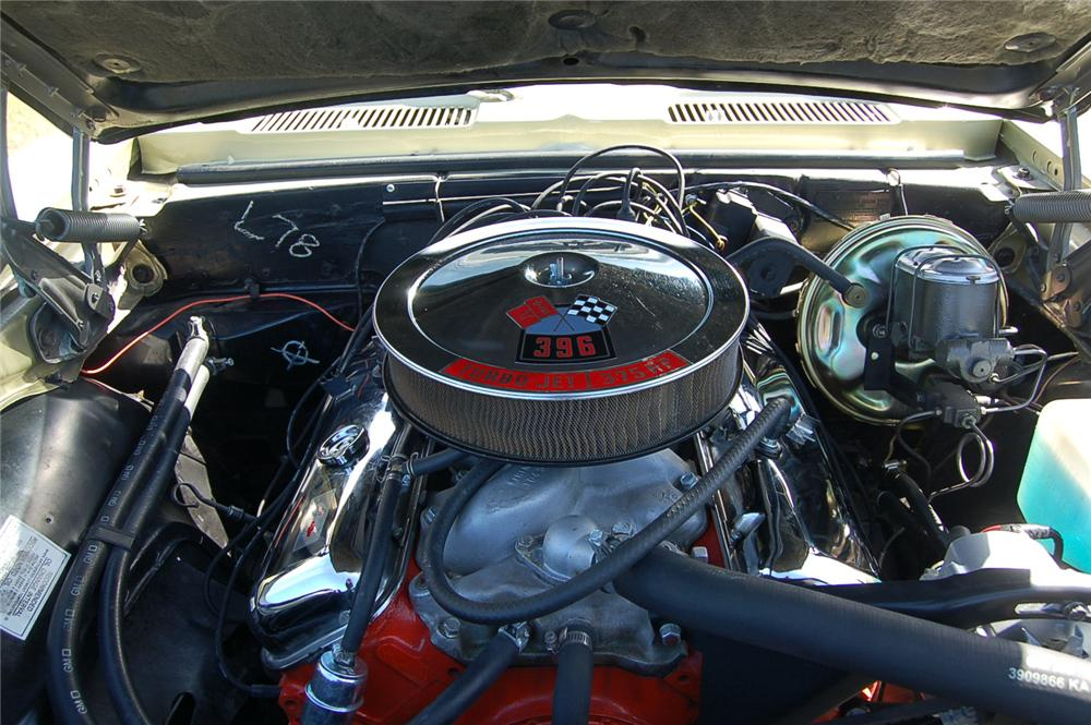 1968 CHEVROLET CAMARO RS/SS 2 DOOR COUPE - Engine - 88861