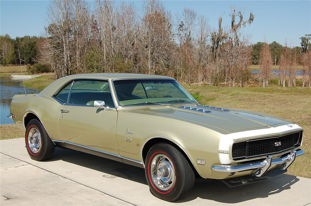 Cheap Car Tires >> 1968 CHEVROLET CAMARO RS/SS 2 DOOR COUPE - 88861