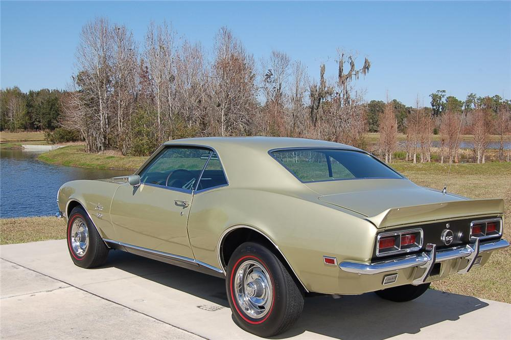 1968 CHEVROLET CAMARO RS/SS 2 DOOR COUPE - Rear 3/4 - 88861