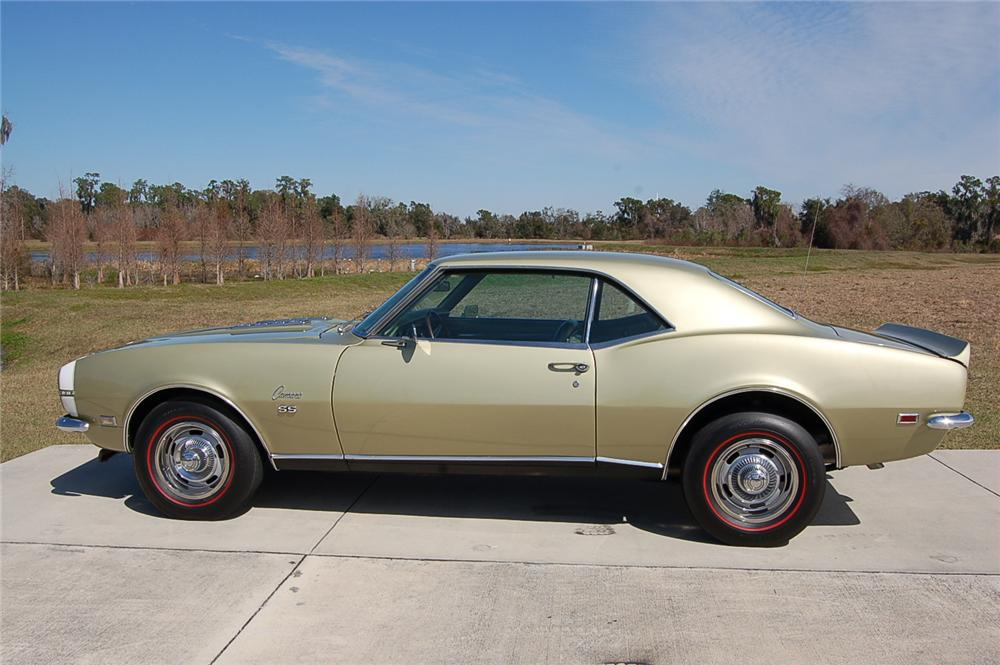 1968 CHEVROLET CAMARO RS/SS 2 DOOR COUPE - Side Profile - 88861