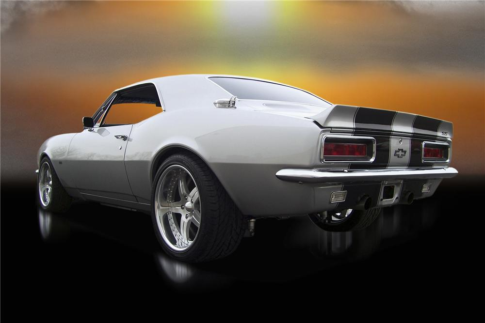 1967 CHEVROLET CAMARO PRO TOURING COUPE - Rear 3/4 - 88863