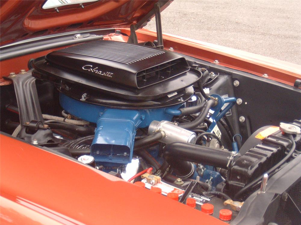 1969 FORD MUSTANG MACH 1 2 DOOR FASTBACK - Engine - 88864