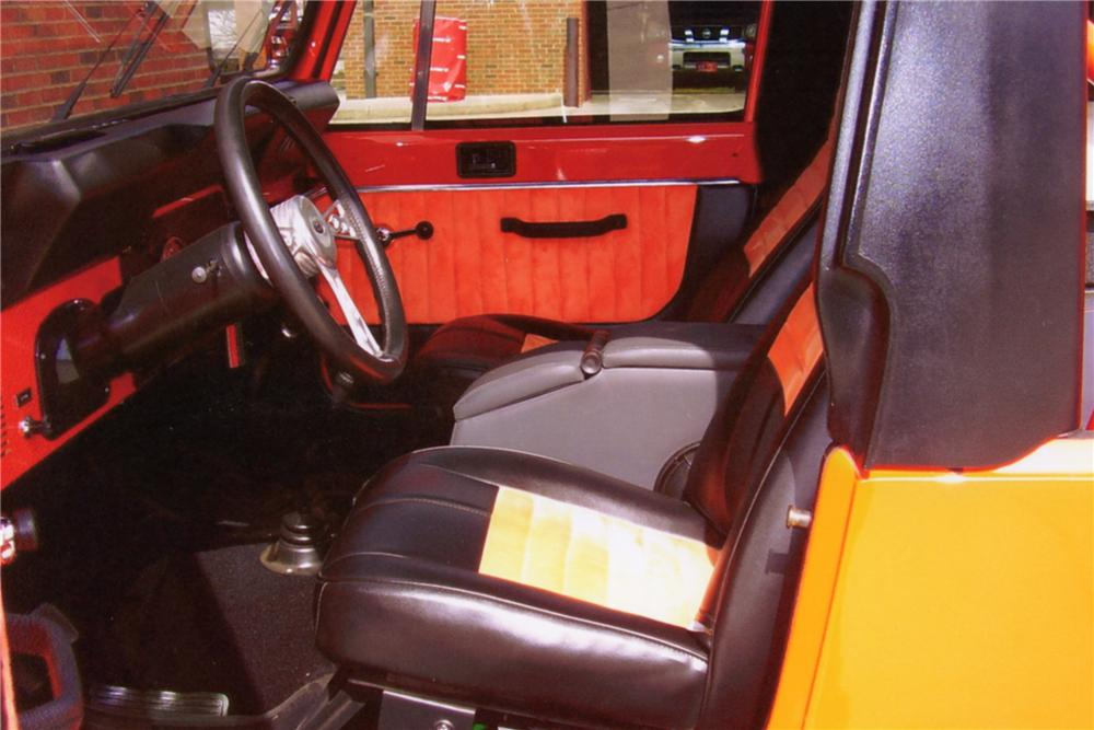 1982 JEEP SCRAMBLER 2 DOOR CONVERTIBLE - Interior - 88875