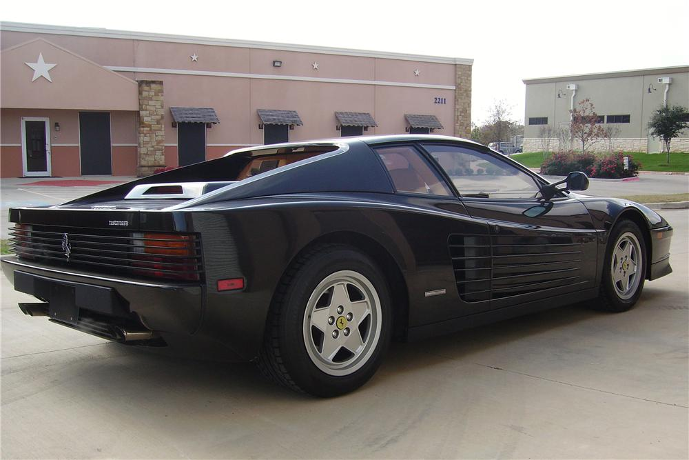 1988 FERRARI 512 TESTAROSSA 2 DOOR COUPE - Rear 3/4 - 88878