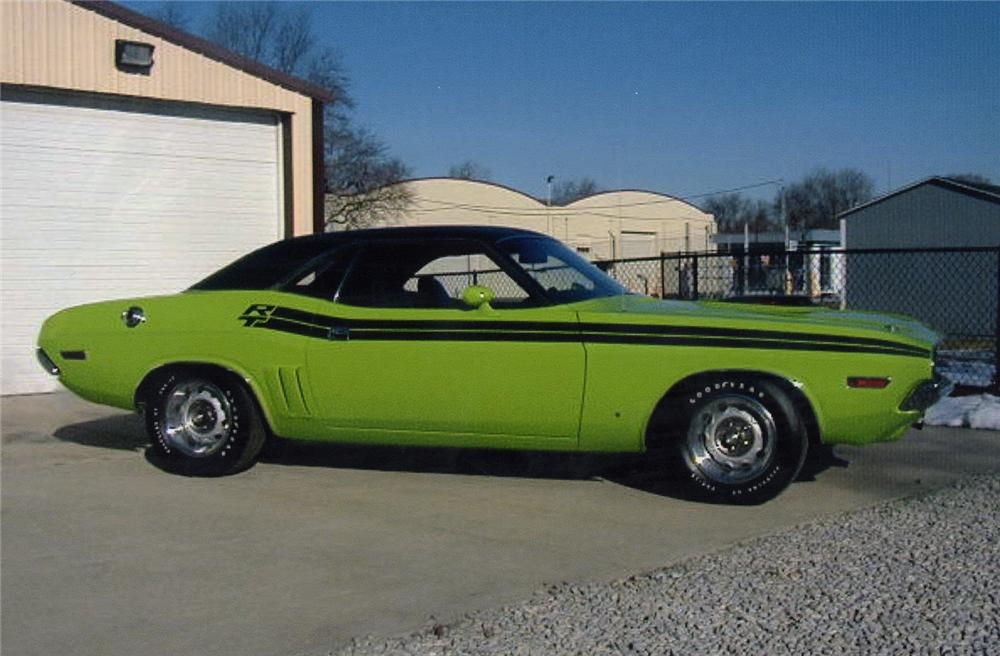1971 DODGE HEMI CHALLENGER R/T 2 DOOR HARDTOP - Side Profile - 88887