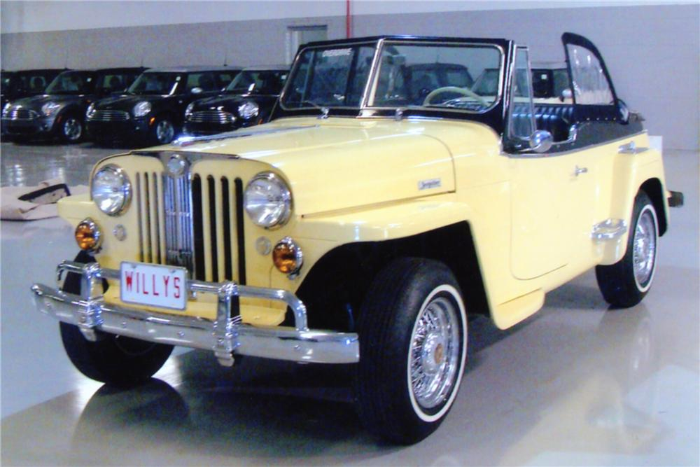 1949 WILLYS JEEPSTER CONVERTIBLE - Front 3/4 - 88891