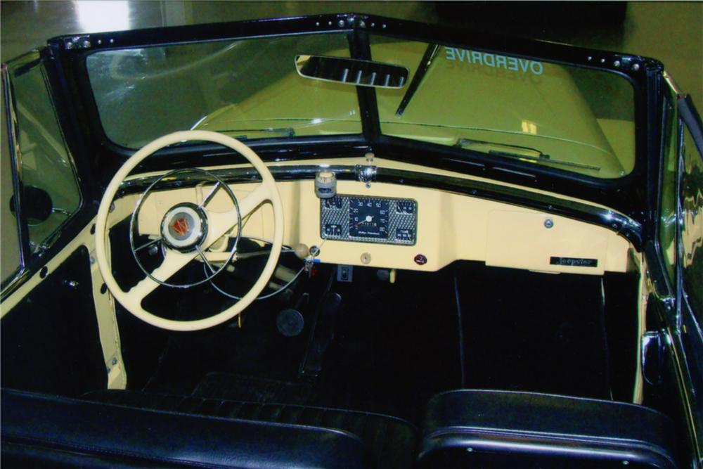 1949 WILLYS JEEPSTER CONVERTIBLE - Interior - 88891