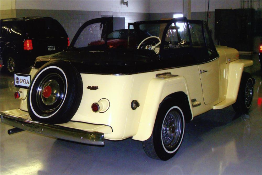 1949 WILLYS JEEPSTER CONVERTIBLE - Rear 3/4 - 88891
