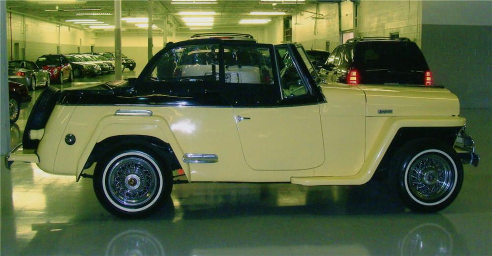 1949 WILLYS JEEPSTER CONVERTIBLE - Side Profile - 88891