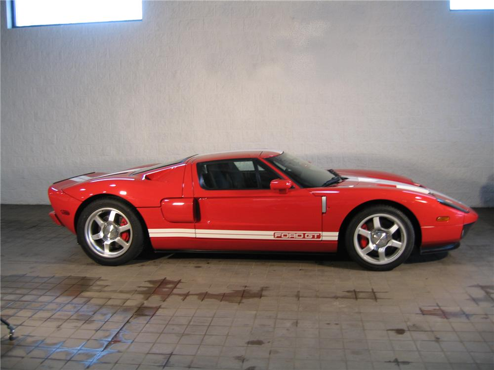 2005 FORD GT COUPE - Side Profile - 88900
