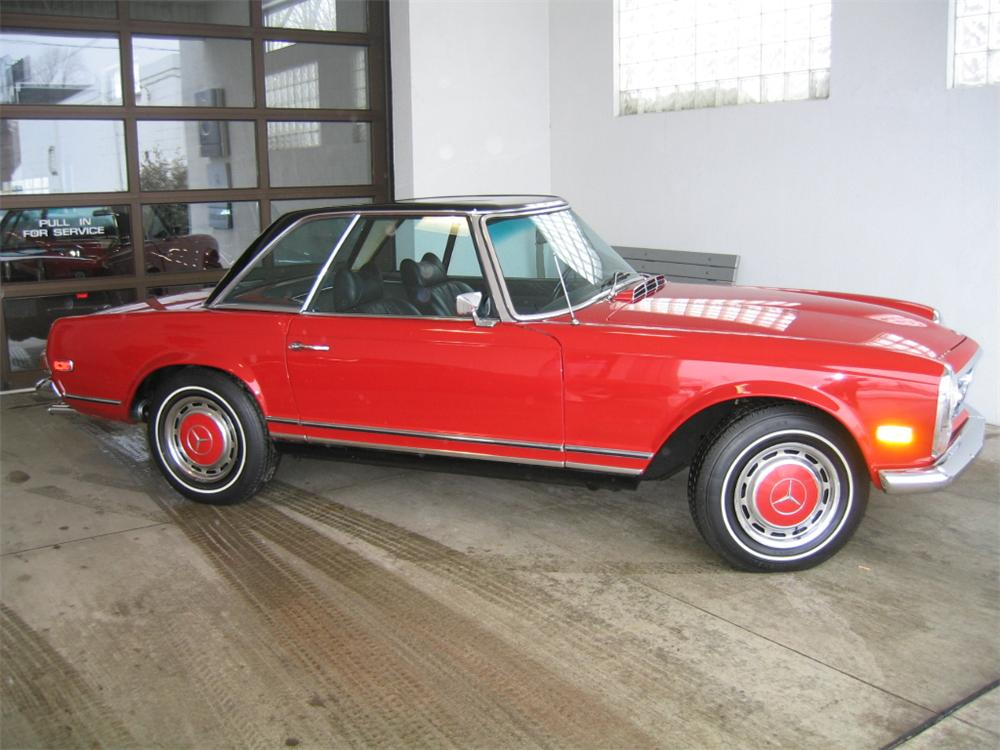 1969 MERCEDES-BENZ 280SL ROADSTER - Side Profile - 88901