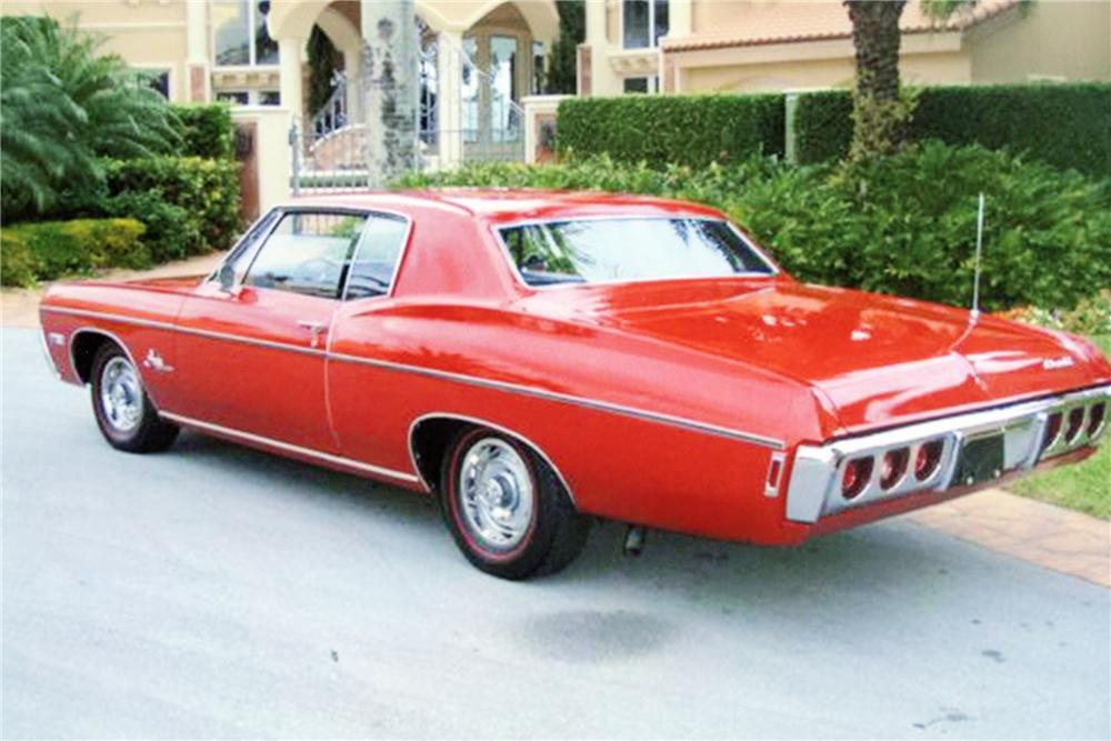 1968 CHEVROLET IMPALA 2 DOOR COUPE - 88911