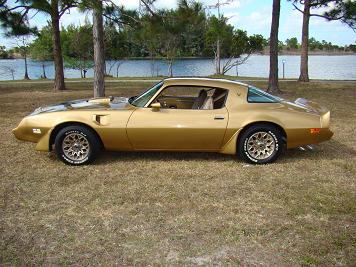 1979 PONTIAC TRANS AM COUPE - Side Profile - 88913