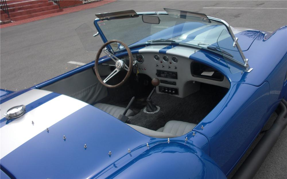 1993 CUSTOM COBRA ROADSTER RE-CREATION - Interior - 88914