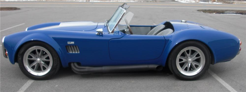 1993 CUSTOM COBRA ROADSTER RE-CREATION - Side Profile - 88914