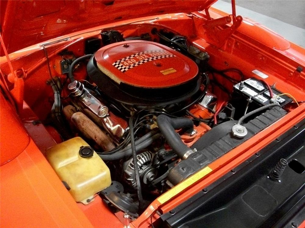 1970 PLYMOUTH SUPERBIRD 2 DOOR COUPE - Engine - 88917