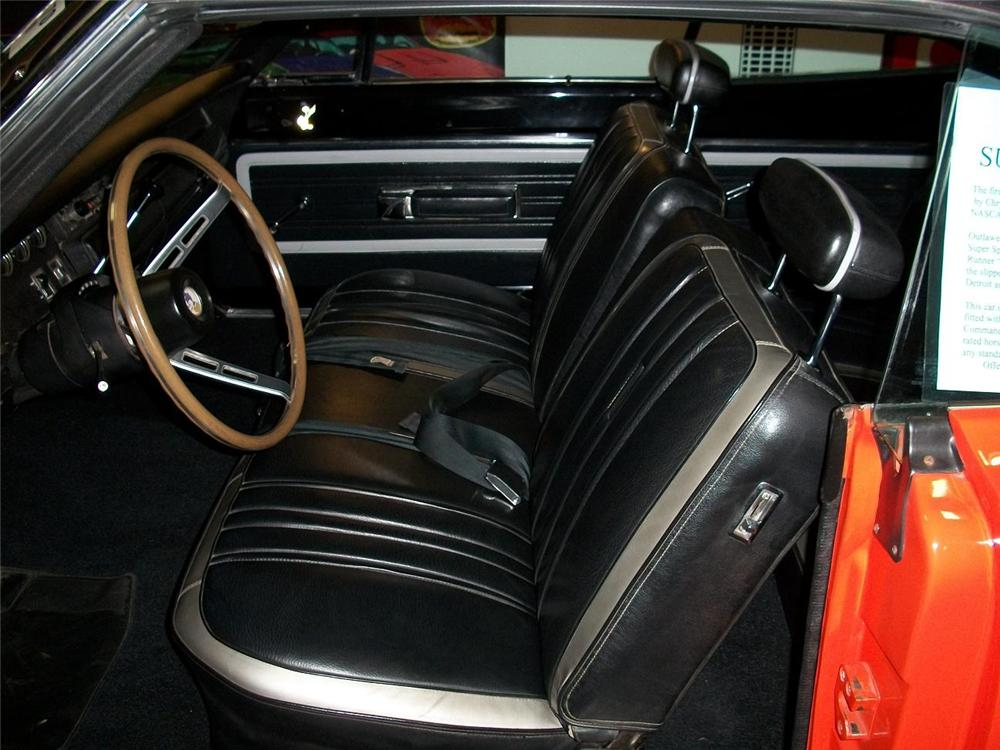 1970 PLYMOUTH SUPERBIRD 2 DOOR COUPE - Interior - 88917