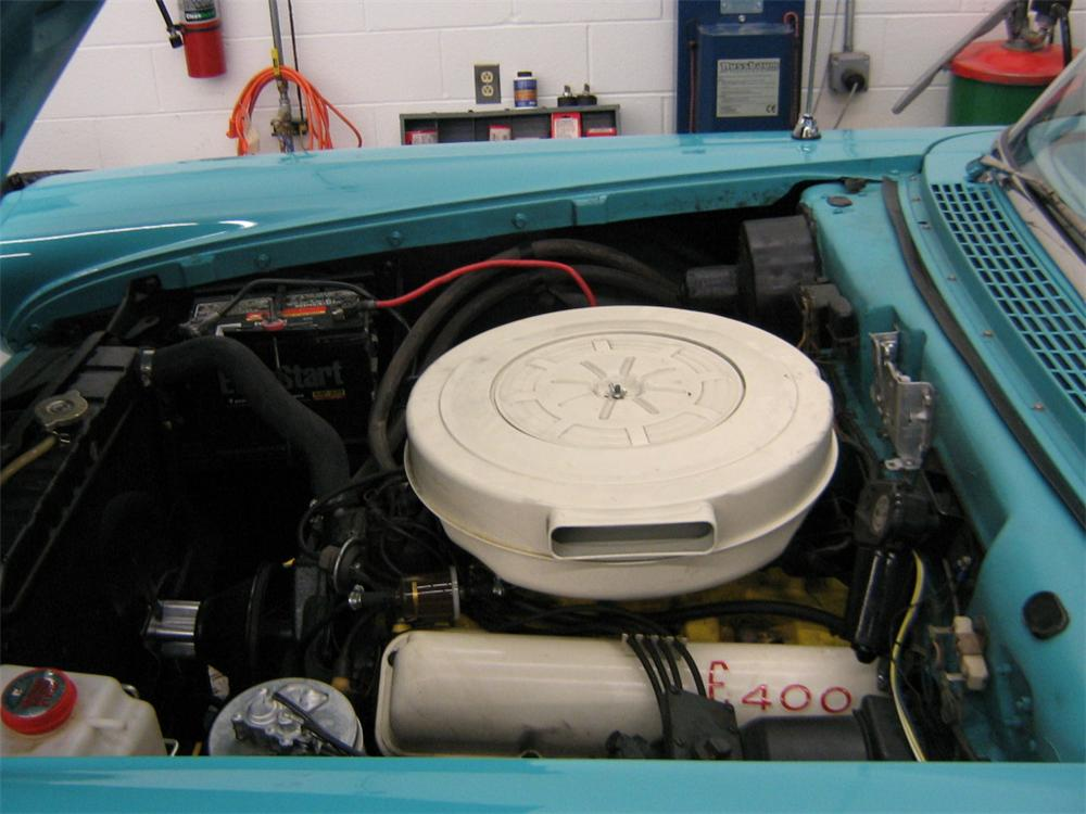 1958 EDSEL PACER CONVERTIBLE - Engine - 88922