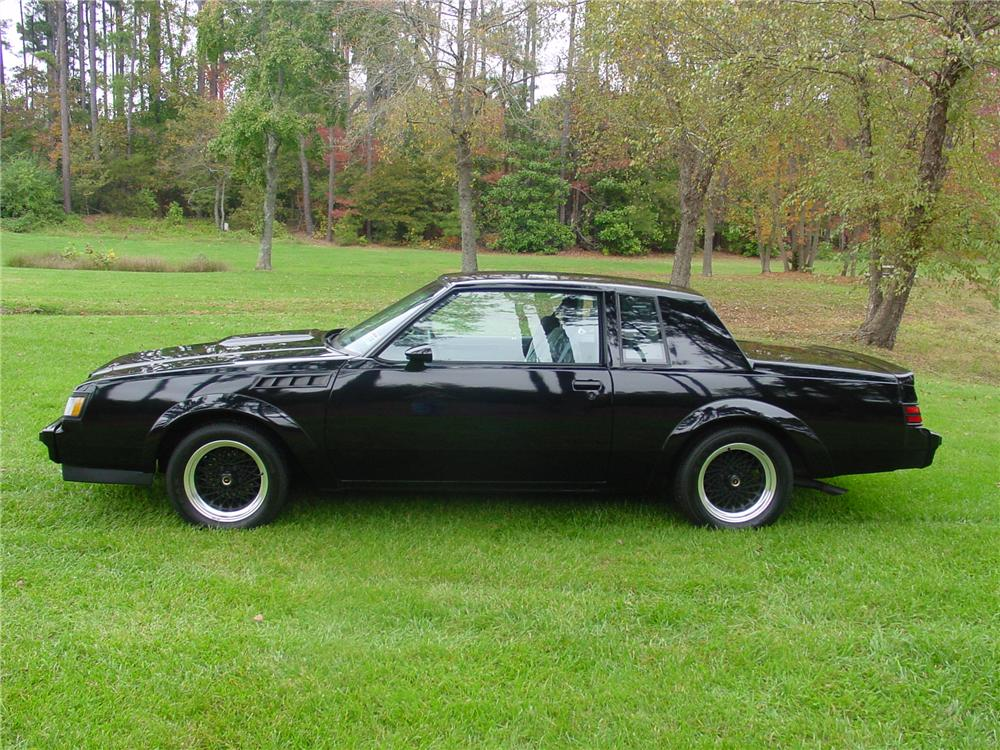 1987 BUICK GNX 2 DOOR HARDTOP - Side Profile - 88928