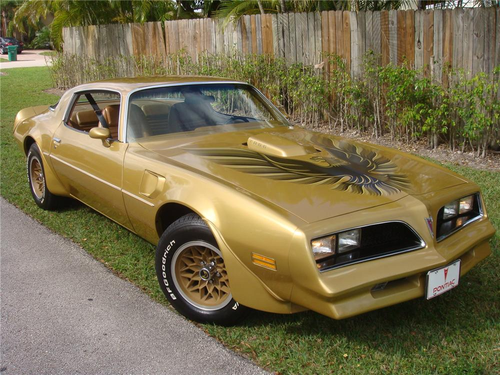 1978 pontiac firebird trans am coupe 88929. Black Bedroom Furniture Sets. Home Design Ideas