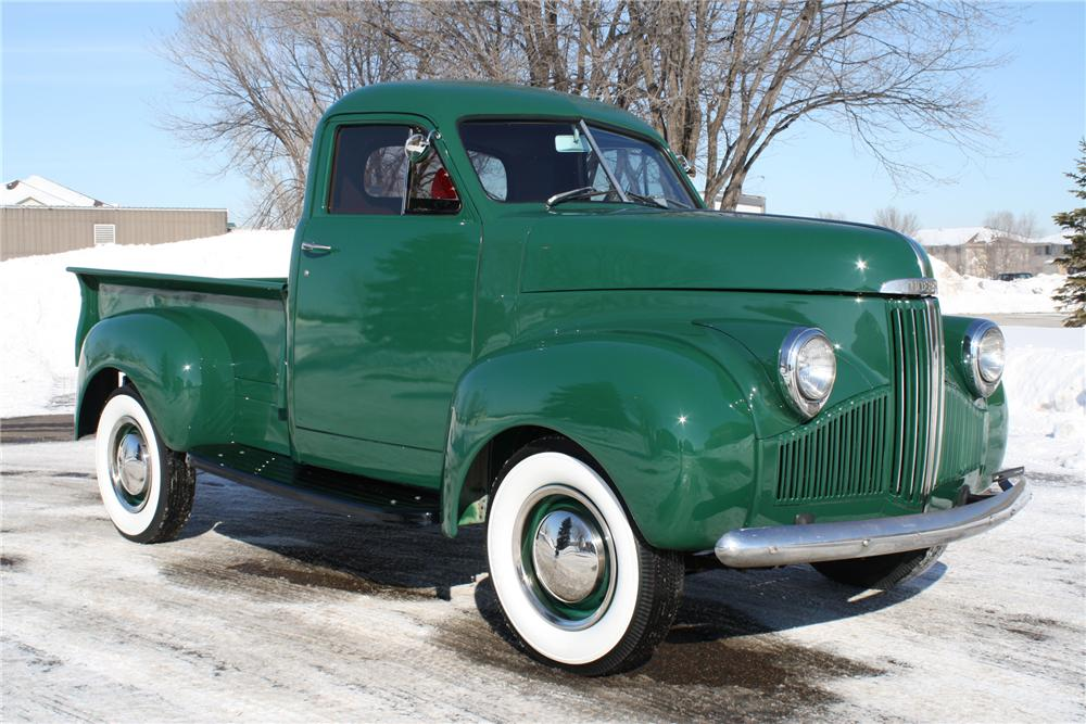 1947 STUDEBAKER M5 PICKUP - Side Profile - 88931