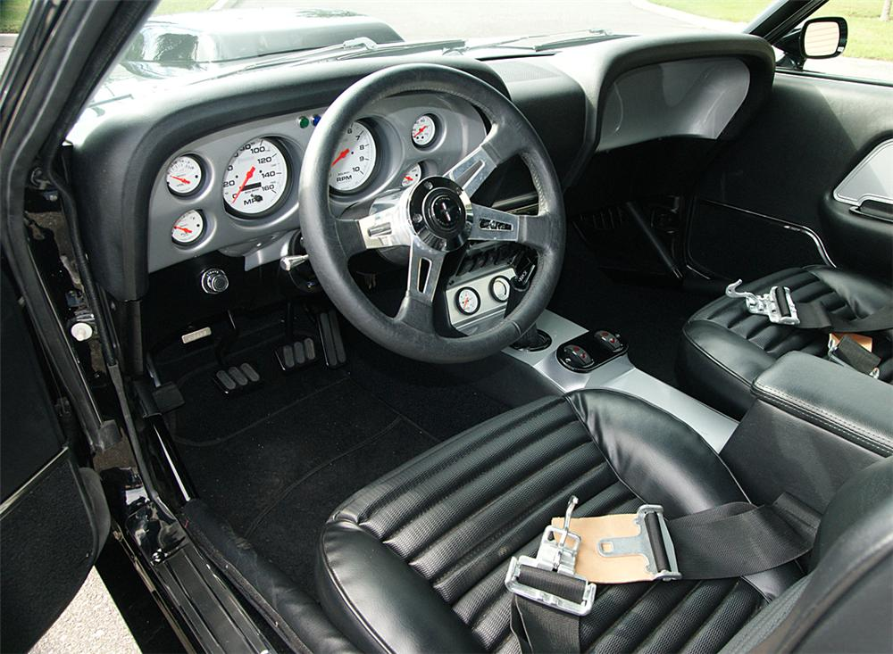 1969 ford mustang custom fastback interior 88932