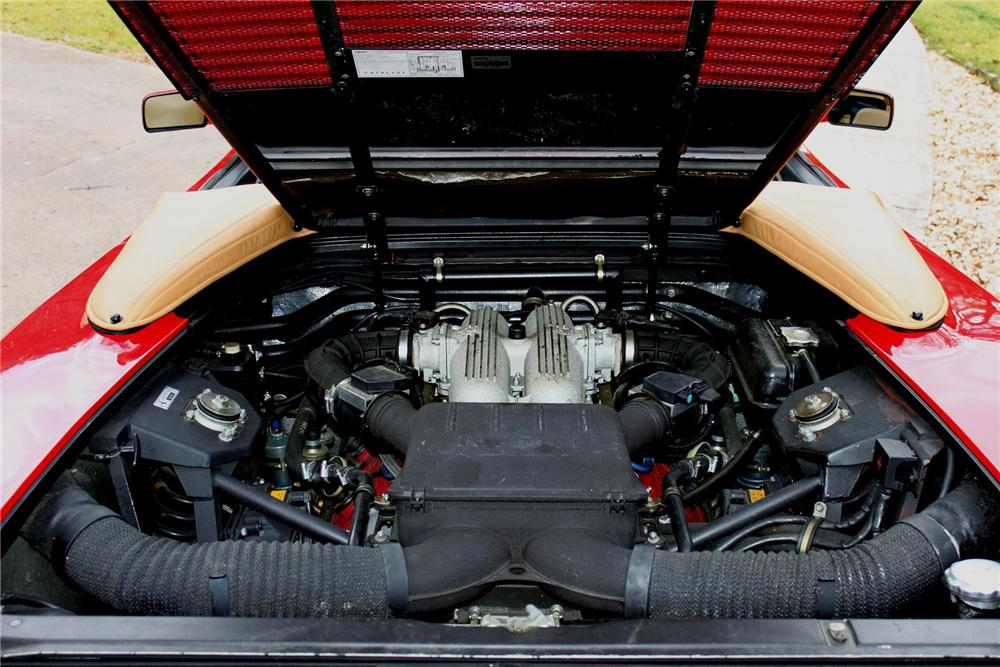 1995 FERRARI 348 SPYDER CONVERTIBLE - Engine - 88934