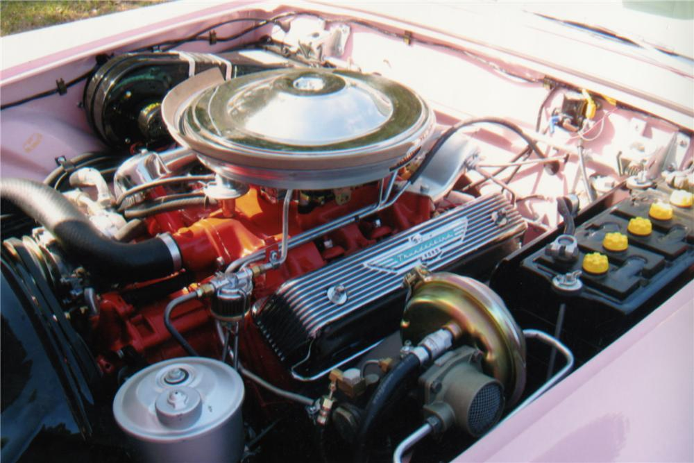 1957 FORD THUNDERBIRD CONVERTIBLE - Engine - 88941