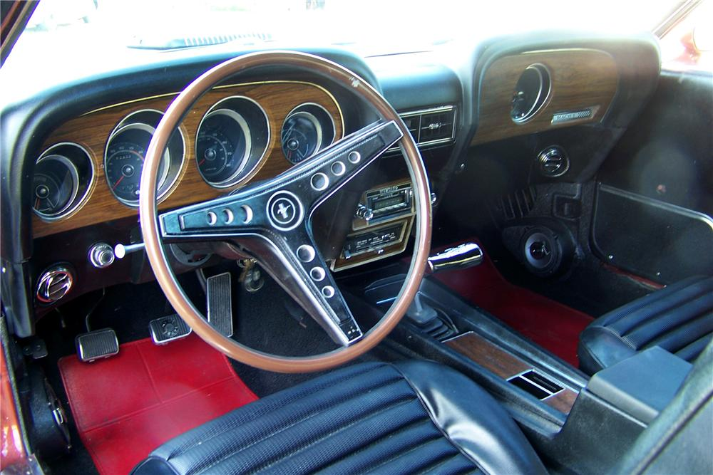 1969 FORD MUSTANG MACH 1 CUSTOM FASTBACK - Interior - 88943