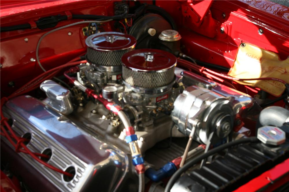 1964 PLYMOUTH FURY CONVERTIBLE - Engine - 88954