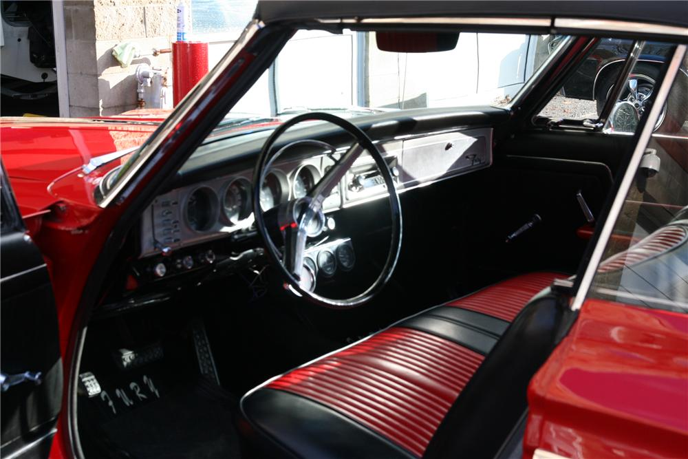 1964 PLYMOUTH FURY CONVERTIBLE - Interior - 88954