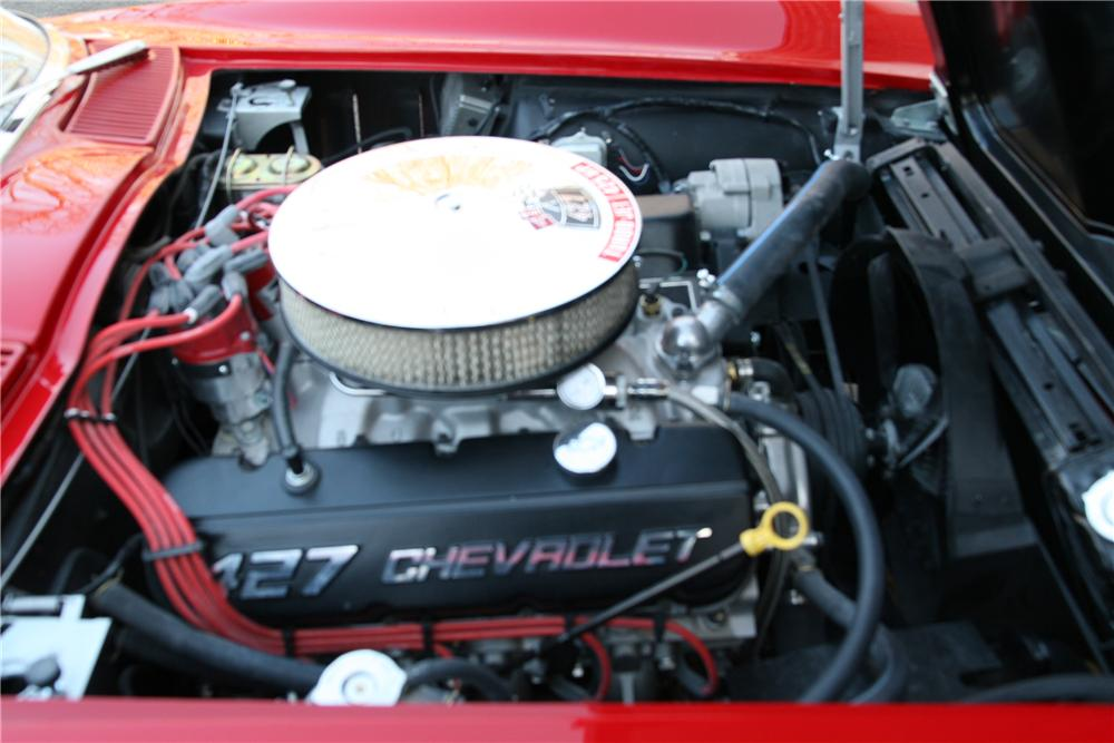 1966 CHEVROLET CORVETTE CUSTOM COUPE - Engine - 88955