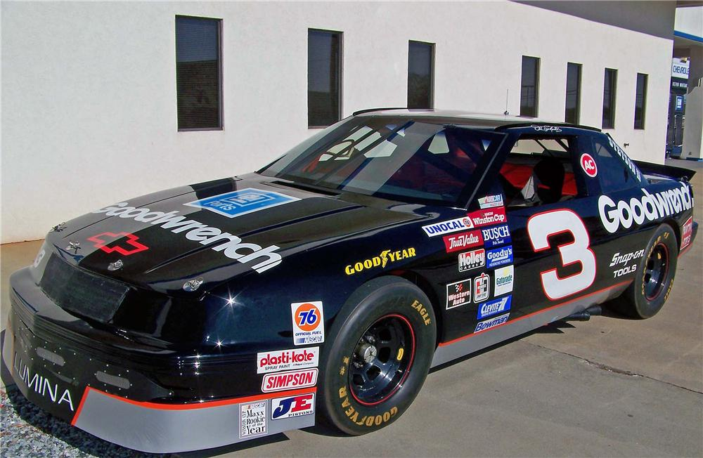 1989 CHEVROLET LUMINA #3 GOODWRENCH DALE EARNHARDT - Front 3/4 - 88957