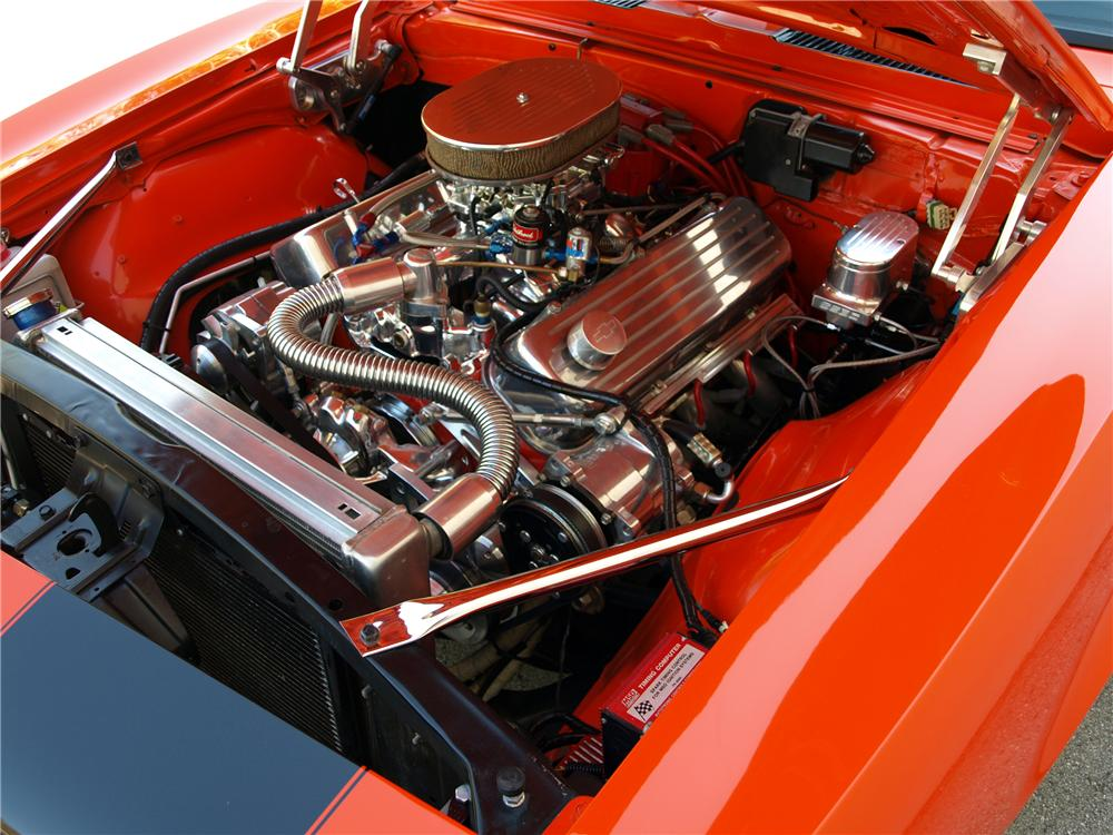 1968 CHEVROLET CAMARO CUSTOM COUPE - Engine - 88965